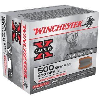 Winchester Super-X 500S&W 350 Grain 20 Round Box X500SW