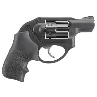 "Ruger LCR DAO 327 Federal Magnum 1.87"" Barrel Black Hogue Tamer Monogrip 6Rd 5452"