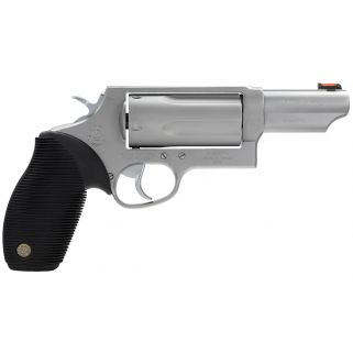 "Taurus 45/410 Judge Tracker Magnum 45 Colt/410 Gauge 3"" Barrel W/ Fiber Optic Front Sight 5Rd Black/Stainless 2441039MAG"