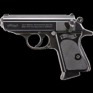"""Walther PPK 380ACP 3.3"""" Barrel 6+1 Black 4796002"""