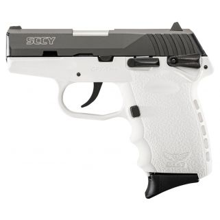 SCCY CPX1CBWT 9MM 3.1 CRB PLY 10 WHITE