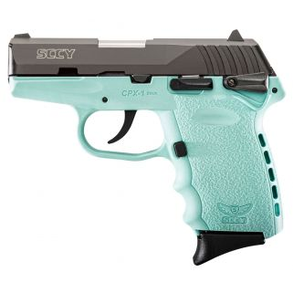 SCCY CPX1CBSB 9MM 3.1 CRB PLY 10 BLUE
