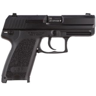 "Heckler & Koch USP9C Compact V1 9mm Luger 3.58"" Barrel W/ 3 Dot Sights 10+1 2 Mags *CA Compliant* 709031A5"