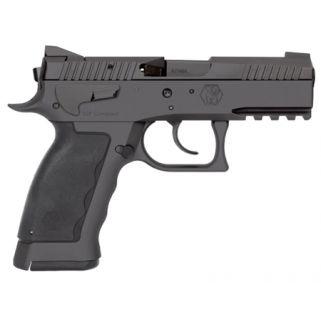 "Kriss Sphinx SDP Compact Duty 9mm 3.7"" Barrel W/ Iron Blade Front-Serrated U Shape Rear Sights 10+1 Black WSDCME084"
