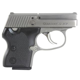 "NAA Guardian 32ACP 2.19"" Barrel W/ Fixed Sights 6+1 Black Rubber Grip/Stainless GUARDIAN"