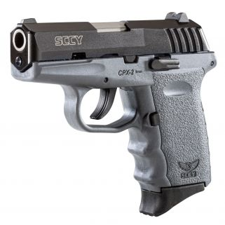 SCCY CPX2CBSG 9MM 3.1 CRB NMS 10 GREY