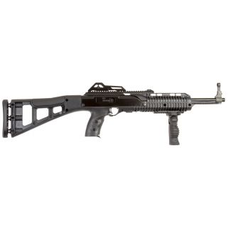 "Hi-Point Carbine 380ACP 16.5"" Barrel W/ Adjustable Sights 10+1 Skeletonized Stock-Forward Grip Black 3895TSFG"