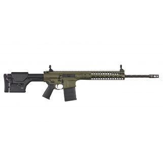 "LWRC R.E.P.R. MKII 308WIN/7.62NATO 20"" Spiral Fluted Barrel W/ Skirmish Sights 20+1 OD Green REPRMKIIR7ODGF20"