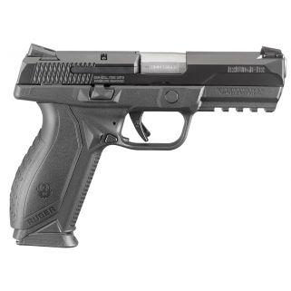 "Ruger American Duty 9mm Luger 4.2"" Barrel 10+1 Black Nitride/Stainless Steel 8607"