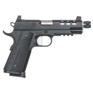 "Dan Wesson 1911 Discretion Commander 9mm Luger 5"" Barrel W/ Night Sights 10+1 Black 01888"
