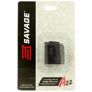 Savage A22 22LR Magazine 10Rd Black 90023