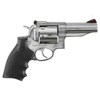 """Ruger Redhawk Stainless 45 Colt 4.2"""" Barrel 6Rd Black Hogue Monogrip 5027"""
