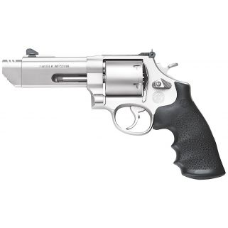 "Smith & Wesson 629 Performance Center V-Comp 44 Remington Magnum 4.25"" Barrel 6Rd Black Synthetic Grip/Stainless 170137"