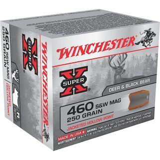 Winchester Super-X 460S&W Magnum 250 Grain JHP 20 Round Box X460SW