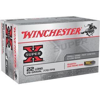 Winchester Super-X 22LR 29 Grain 50 Round Box X22LRCBMA