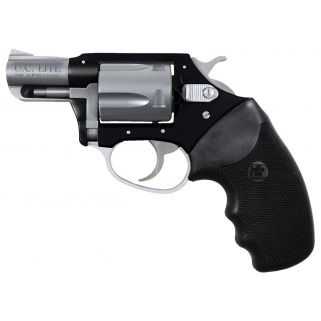"Charter Arms Undercover Lite 38 Special 2"" Barrel W/ Fixed Sights 5Rd Black/Silver 53870"
