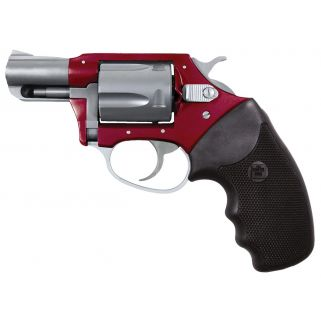 "Charter Arms Undercover Lite 38 Special 2"" Barrel W/ Fixed Sights 5Rd Black Grip/Red-Stainless 53823"