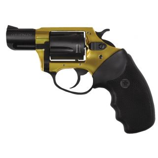 "Charter Arms Undercover Lite Gold Finger 38 Special 2"" Barrel W/ Fixed Sights 5Rd Gold/Black 53890"