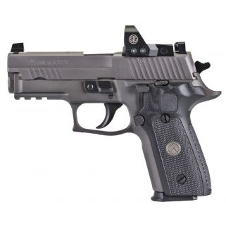 """Sig Sauer P229 Legion 9mm 3.9"""" Barrel W/ XRay Night Sights 15+1 Gray E29R-9-LEGION-RX"""
