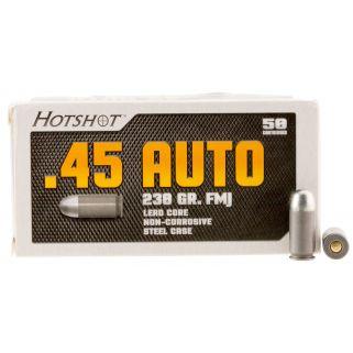 Century Hotshot 45ACP 230 Grain FMJ 50 Round Box AM2042