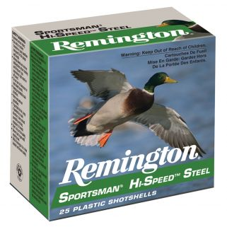 "Remington Sportsman Hi-Speed Load 12 Gauge BB Shot 3.5"" 25 Round Box SSTHV1235B"