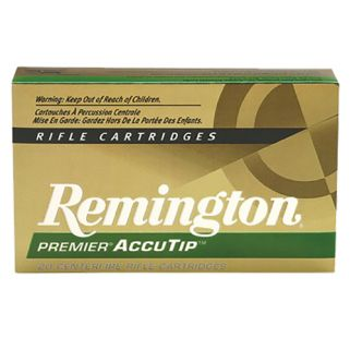 Remington Premier AccuTip-V 22 Hornet 35 Grain Brass 50 Round Box PRA22HNA