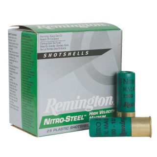 "Remington Nitro Steel 16 Gauge 4 Shot 2.75"" 25 Round Box NS16HV4"