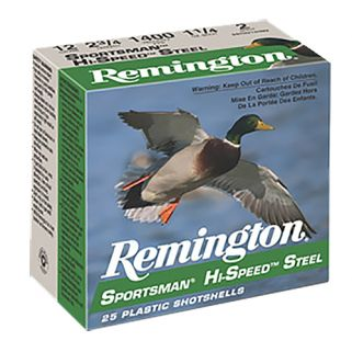 "Remington Sportsman Hi-Speed Load 10 Gauge 2 Shot 3.5"" 25 Round Box SSTHV102"