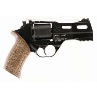 """Chiappa Rhino 357 Magnum/38 Special 4"""" Barrel 6Rd Walnut Grip/Black 340219"""