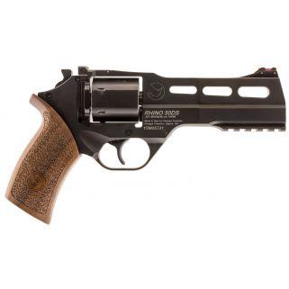 "Chiappa Rhino 50SAR 357 Magnum 5"" Barrel W/ Fiber Optic Sights 6Rd Walnut Grip/Black 340246"