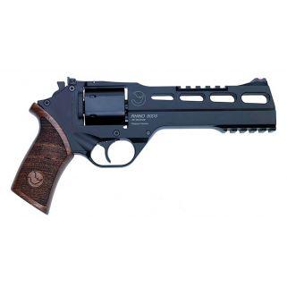 "Chiappa Rhino 60SAR 357 Magnum 6"" Barrel W/ Fiber Optic Sights 6Rd Walnut Grip/Black 340248"