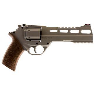 "Chiappa Rhino 60SAR 357 Magnum 6"" Barrel W/ Fiber Optic Sights 6Rd Walnut Grip/Stainless CF340249"
