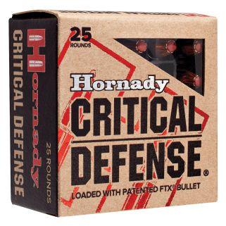 HORN 90063 CRITDEF 32 ACP 60 FTX CD 25/10