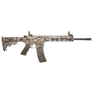 """Smith & Wesson M&P15-22 Sport 22LR 16.5"""" Barrel 25+1 Kryptek Highlander/Black 10211"""