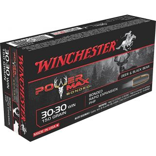 Winchester Power Max Bonded 30-30WIN 150 Grain 20 Round Box X30306BP
