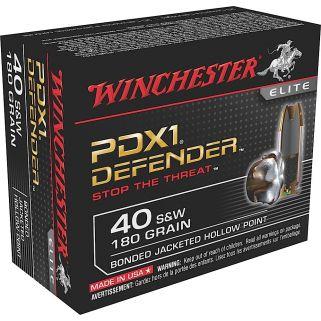Winchester PDX1 Defender 40S&W 180 Grain 10 Round Box S40SWPDB1