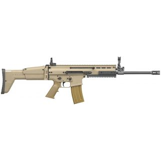 "FN SCAR 16S 223 Remington 16.3"" Barrel W/ Adjustable Sights 10+1 Flat Dark Earth/Black 98601"
