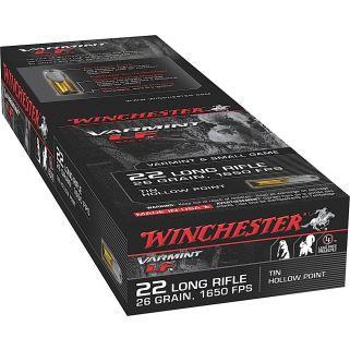 Winchester Super-X 22LR 26 Grain 50 Round Box X22LRHLF
