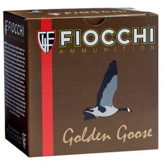 """Fiocchi Golden Goose 12 Gauge 1 Shot 3.5"""" 25 Round Box 1235GG1"""
