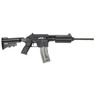 "Kel-Tec SU-22 22LR 16.1"" Barrel W/ Adjustable Sights 26+1 Collapsible Stock-Black SU22E"