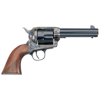 "Taylor's & Co 1873 Cattleman 45 Colt 4.75"" barrel W/ Fixed Sights 6Rd Walnut Grip/Blued 700A"