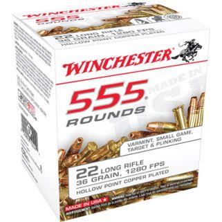 WIN 22LR555HP 22LR 36 CPHP(CASE)5550RD