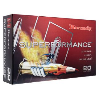 Hornady Superformance 7mm-08 Remington 139 Grain SST SP 20 Round Box 80573