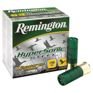 "Remington HyperSonic Steel 12 Gauge 4 Shot 3.5"" 25 Round Box HSS12354"