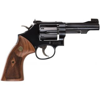 "Smith & Wesson 48 Classic 22 Winchester Magnum Rimfire 4"" Barrel 6Rd Wood Grip/Blued 150717"