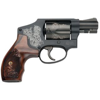 "Smith & Wesson 442 Machine Engraved 38 Special 1.875"" 5Rd 150785"