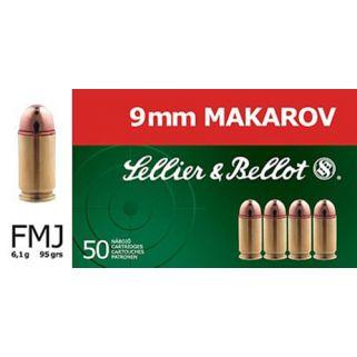 S&B SB9MAK 9MM MAK 95 FMJ 50/20