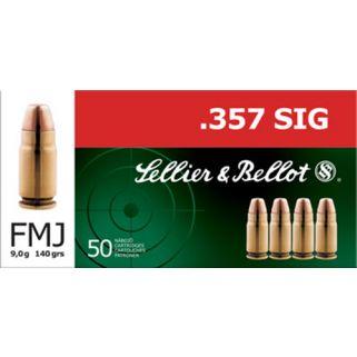 S&B SB357SIG 357 SIG 140 FMJ 50/20