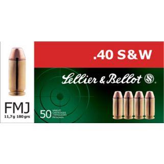 S&B SB40B 40S 180 FMJ 50/20