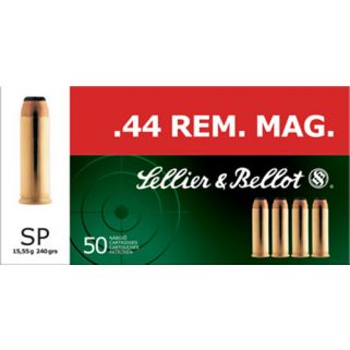 S&B SB44A 44 MAG 240 SP 50/12